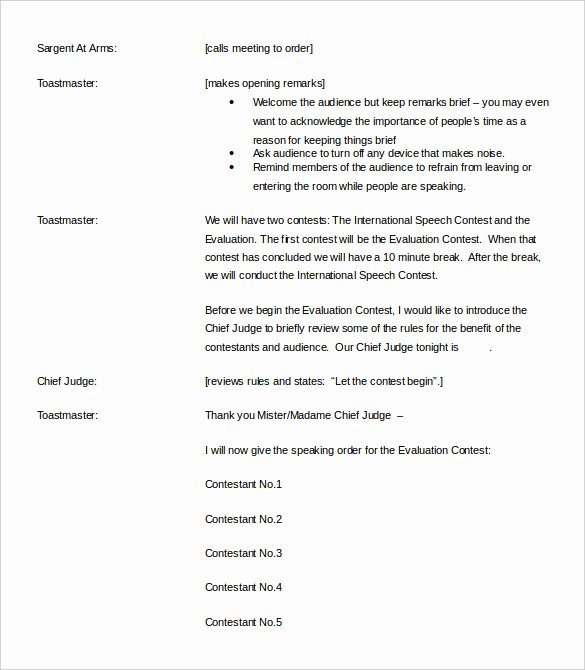 Toastmasters Speech Evaluation form Lovely toastmaster Evaluation Template – 20 Free Word Pdf Documents Download