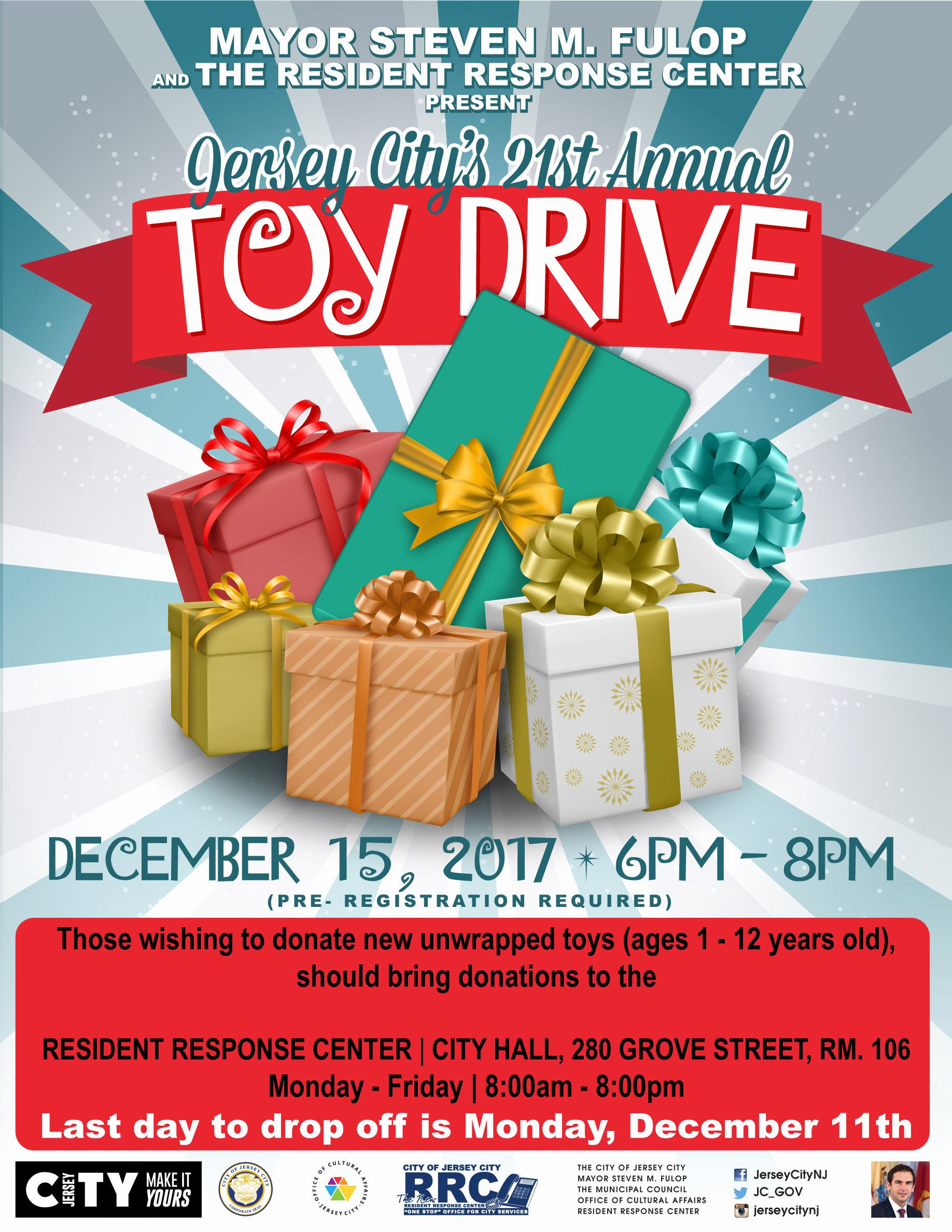 Toy Drive Flyer Template Free Luxury 21st Annual toy Drive Gift Distribution the Fice Of Cultural Affairs