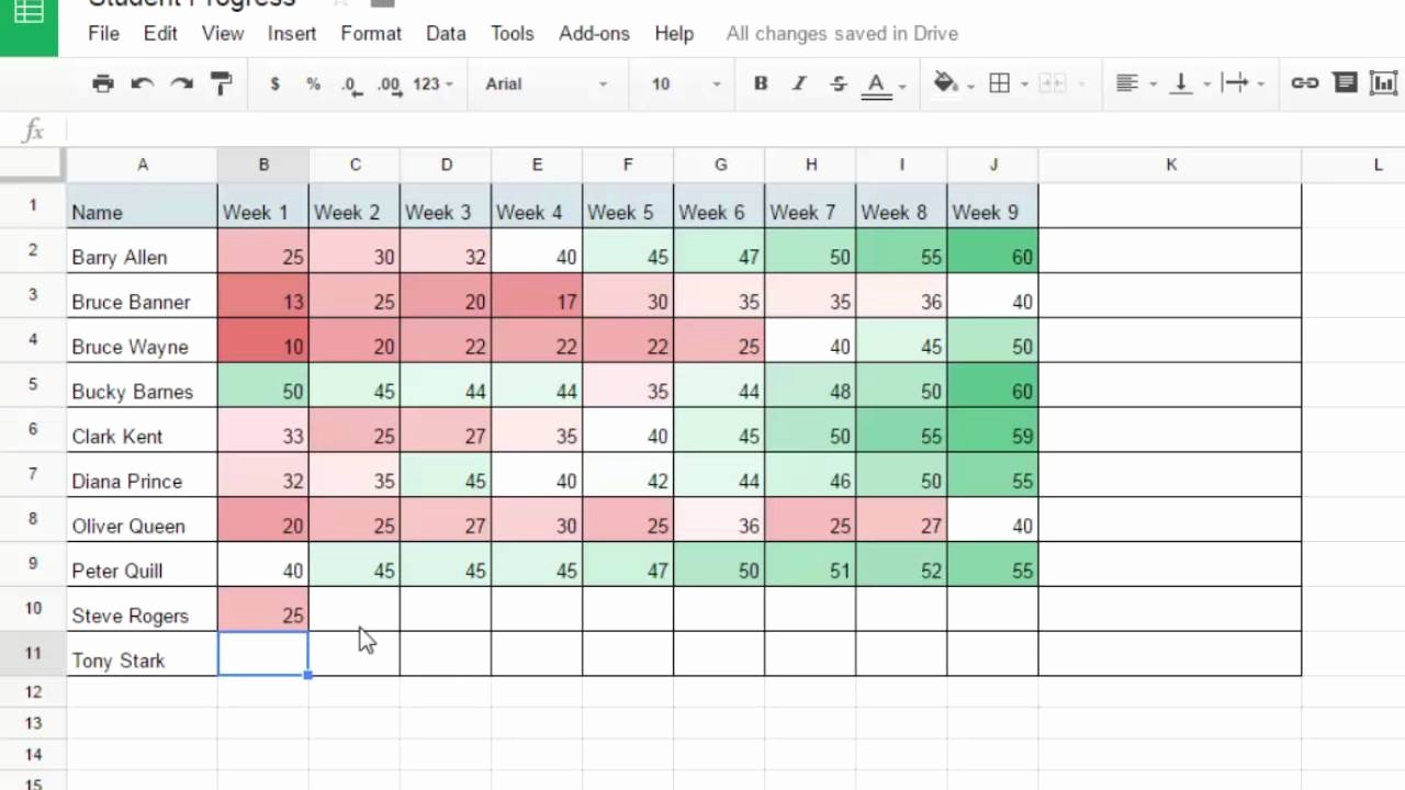 Tracking Student Progress Template Elegant Track Student Progress with Google Sheets