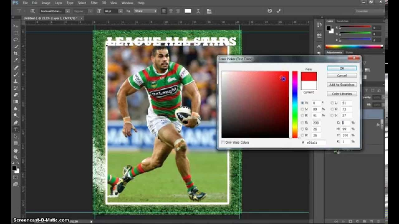 Trading Card Template Photoshop Beautiful Make A Trading Card In Adobe Shop Part 1