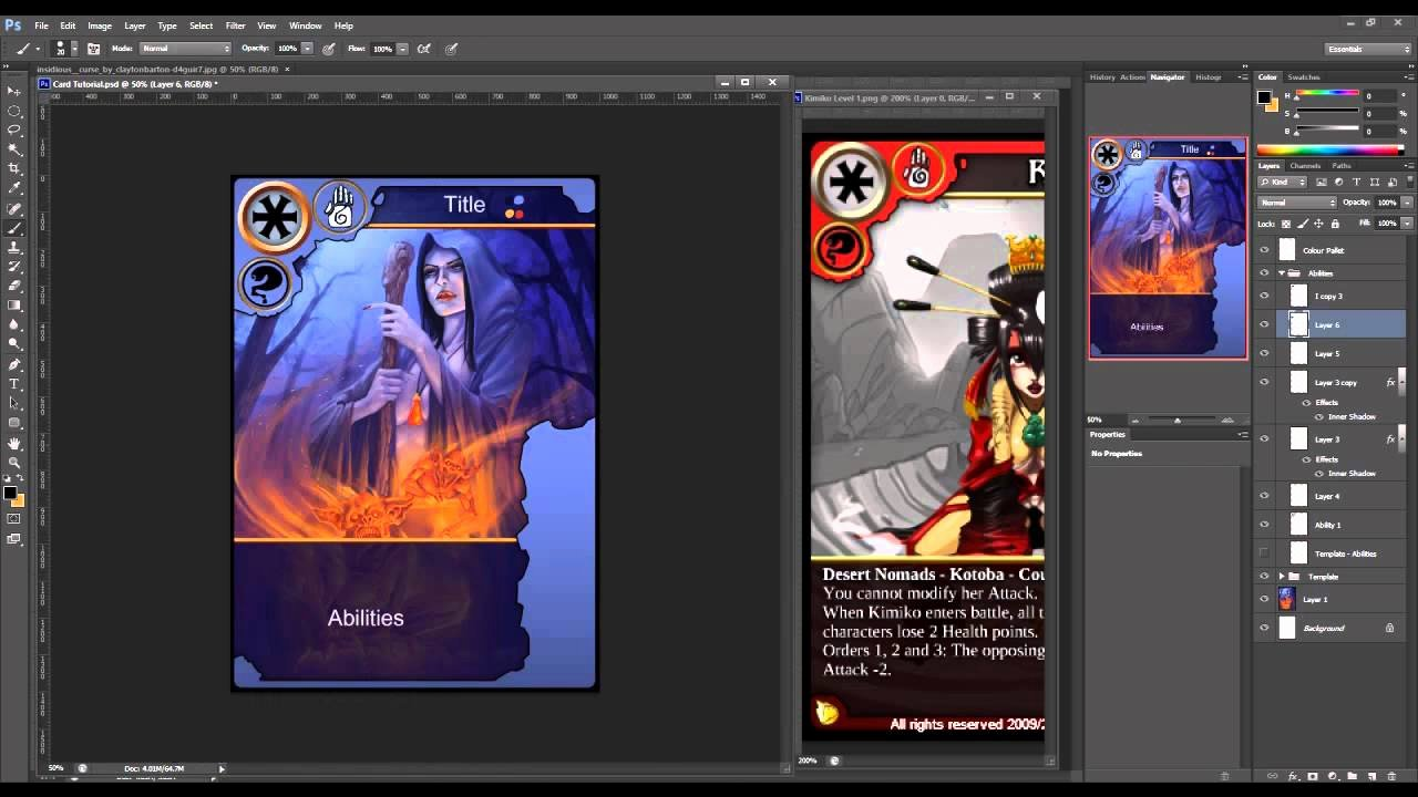 Trading Card Template Photoshop New How to Create Trading Cards In Shop