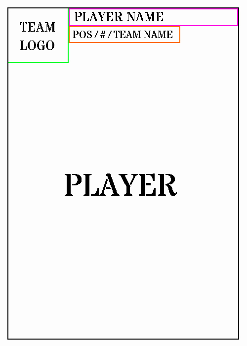 Trading Card Template Word Lovely Trading Card Template