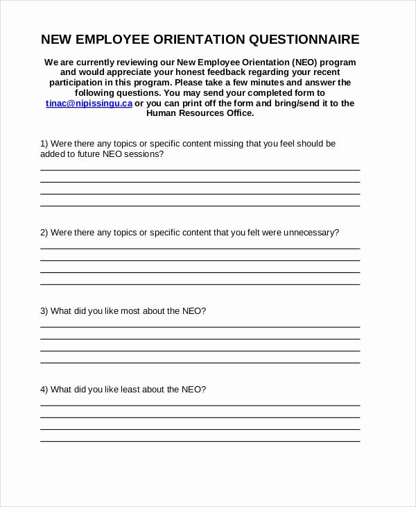 Training Feedback form for Employees Lovely 60 Sample Survey forms Word Pdf