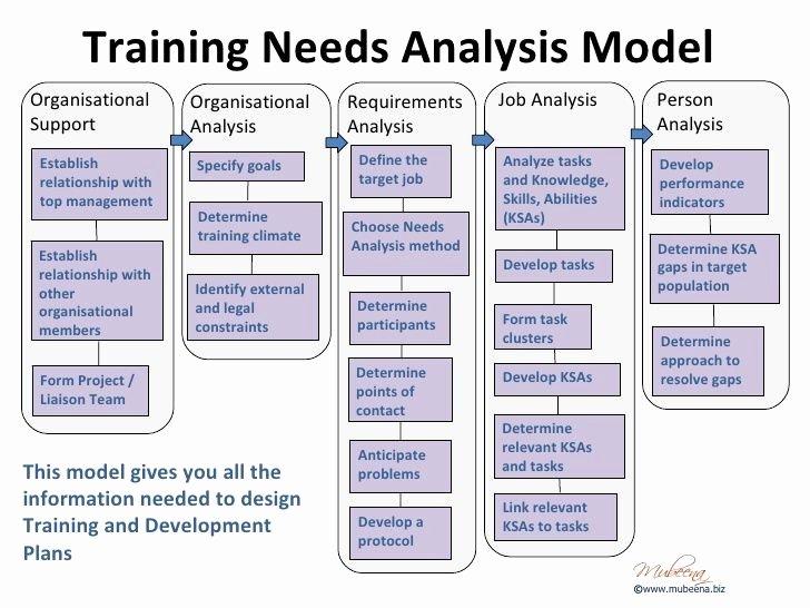 Training Needs Analysis Template Elegant organisational Training Needs Analysis Template Google Search Mentoring Programs