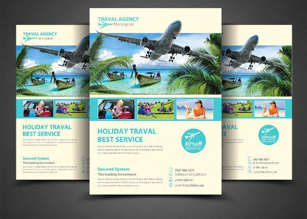 Travel Agency Advertising Samples Best Of 23 Transport Flyer Templates Free & Premium Download
