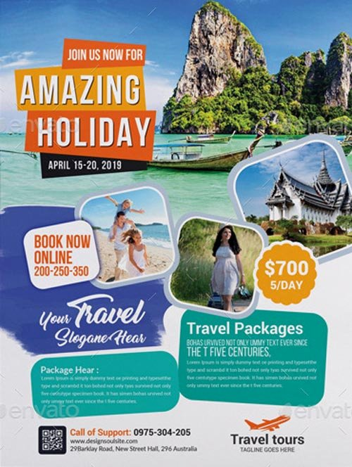 Travel Agency Advertising Samples Fresh Travel Agency Business Flyer Template Download Travel Flyer Designs