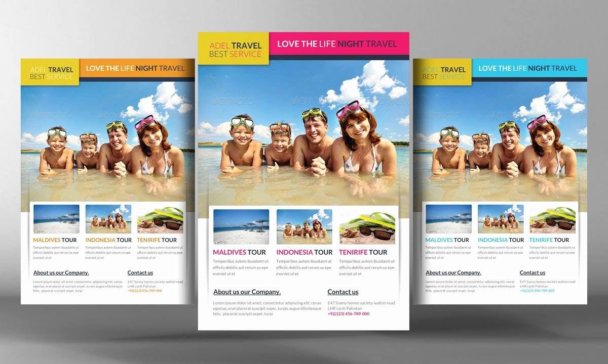 Travel Agency Advertising Samples Inspirational Travel Agency Marketing Flyer by Business Templates On Creative Market