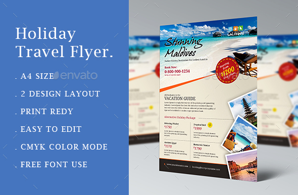 Travel Agency Advertising Samples Lovely 10 Gorgeous Travel Agency Flyer Templates to Grow Your Travel Business