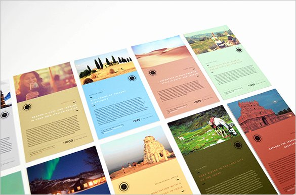Travel Brochure Template Free Unique 11 Free Sample Travel Brochure Templates Printable Samples