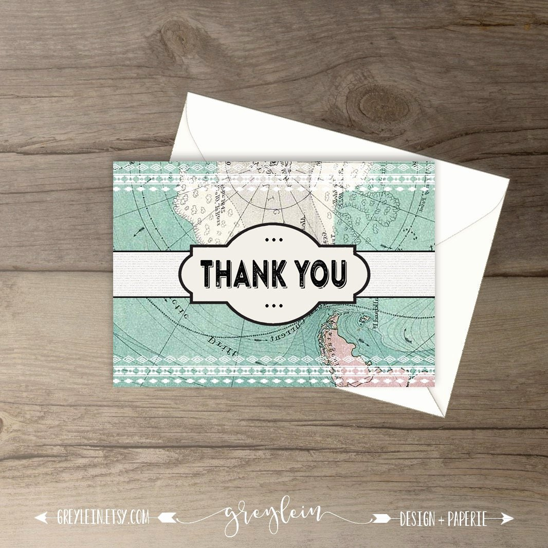Travel themed Thank You Cards Beautiful Travel Thank You Cards Matching Travel themed Baby Shower