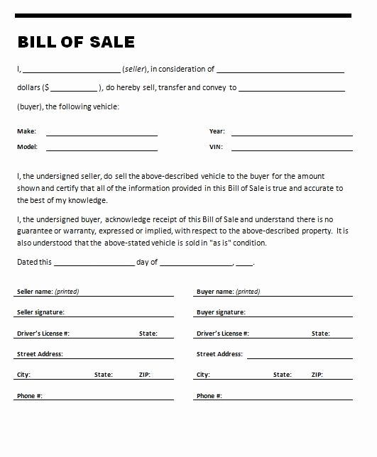 Travel Trailer Bill Of Sale Best Of Printable Sample Printable Bill Of Sale for Travel Trailer form