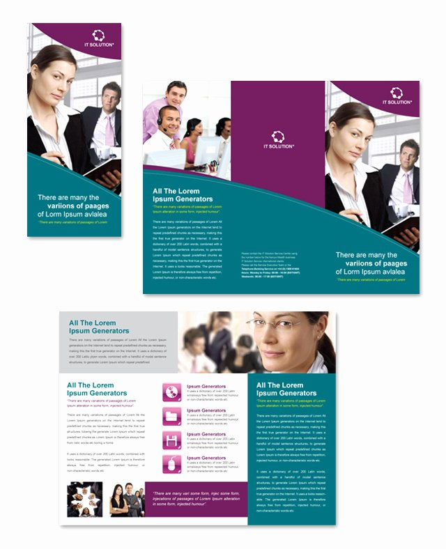 Tri Fold Brochure Psd Template Lovely Free Tri Fold Brochure Template Sample