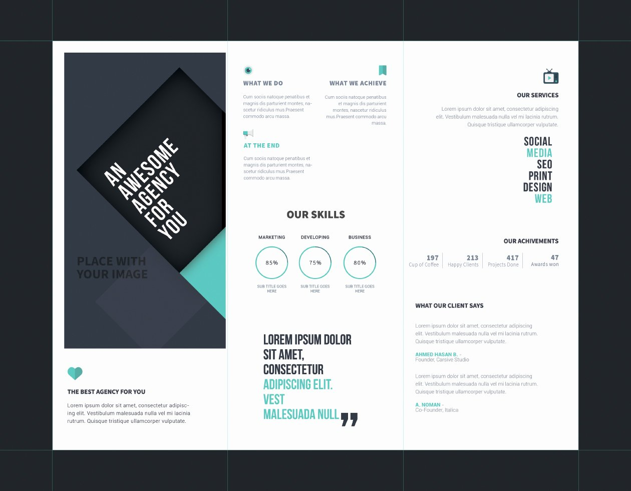 Tri Fold Brochure Psd Template Lovely Tri Fold Brochure Template