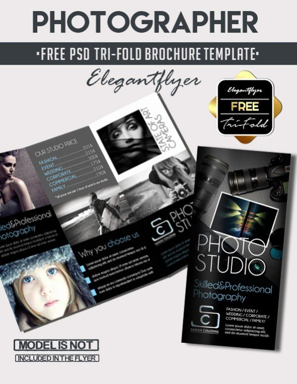 Tri Fold Brochure Psd Template New 65 Print Ready Brochure Templates Free Psd Indesign & Ai Download