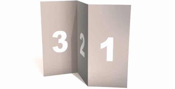 Tri Fold Brochure Template Psd Awesome Blank Tri Fold Brochure Template Mock Up Psd