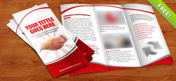 Tri Fold Brochure Template Psd Best Of 32 Best Free Brochure Templates