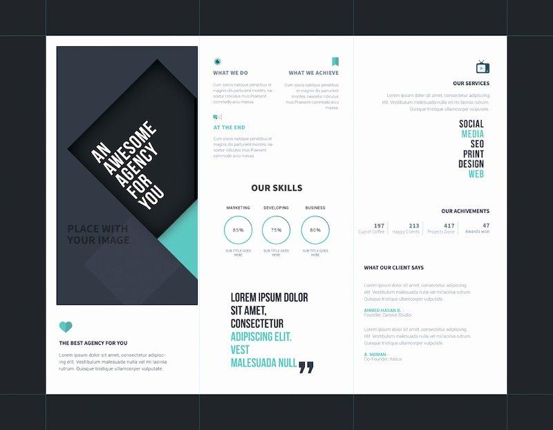 Tri Fold Brochure Template Psd Elegant 25 Tri Fold Brochure Templates Psd Ai & Indd Free & Premium Super Dev Resources