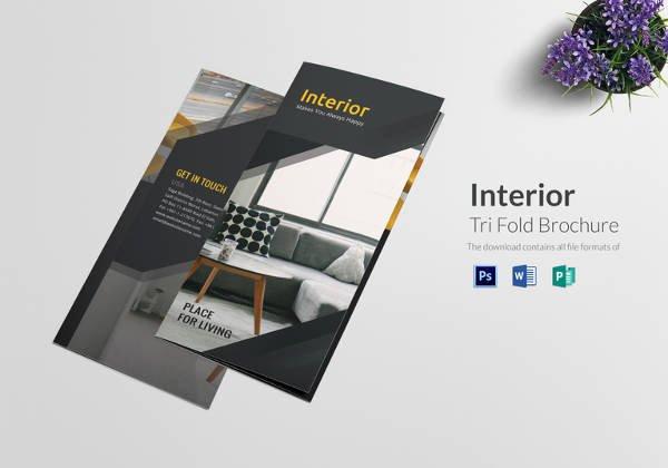 Tri Fold Brochure Template Psd Lovely 16 Blank Tri Folder Brochures Psd Vector Eps Jpg Download