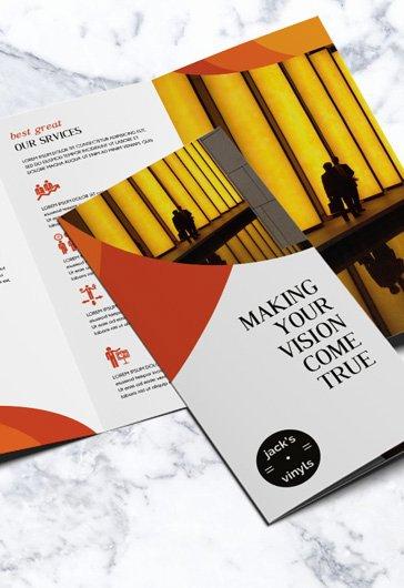 Tri Fold Brochure Template Psd Luxury Free Brochure Templates In Psd