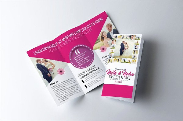 Tri Fold Invitation Template Unique 17 Tri Fold Wedding Invitation Templates Free & Premium