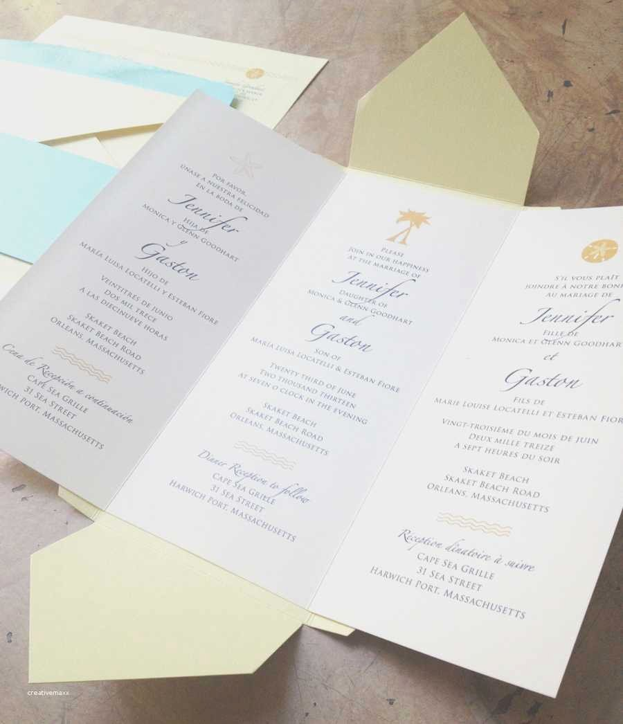 Tri Fold Invitation Template Unique Luxury Free Tri Fold Wedding Program Templates Creative