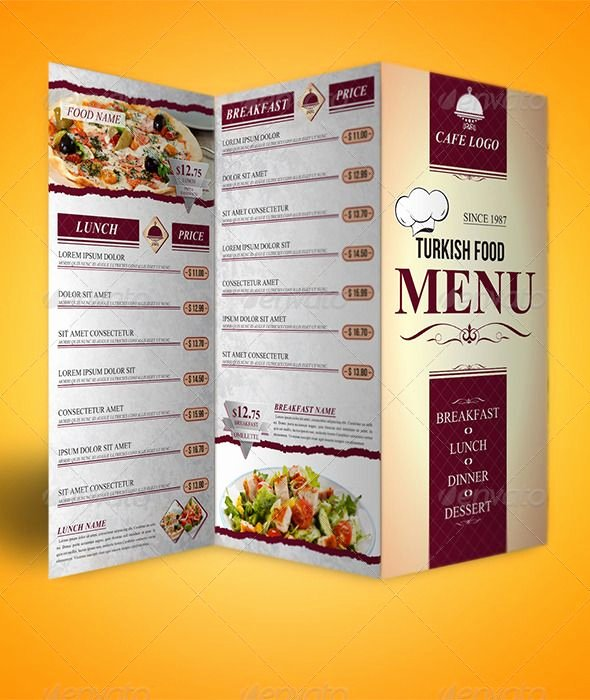 Tri Fold Menu Template Fresh 24 Best Bi Fold and Tri Fold Images On Pinterest