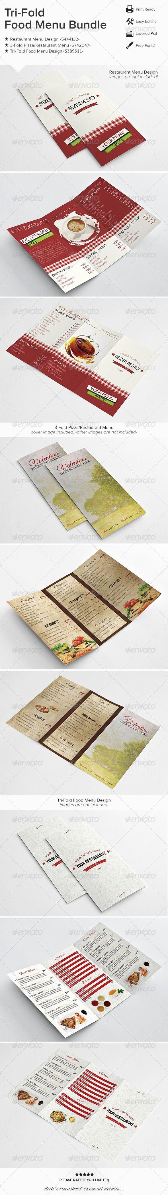 Tri Fold Menu Template Fresh 34 Best Tri Fold Menu Images On Pinterest