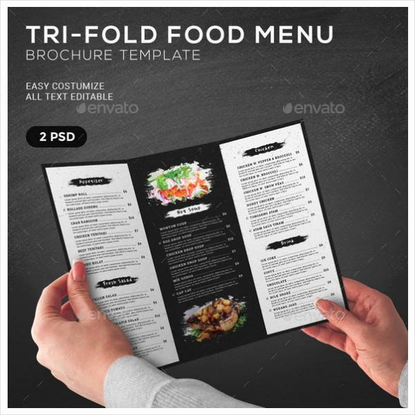 Tri Fold Menu Template Lovely 10 Dietitian Brochure Designs & Templates Psd Ai