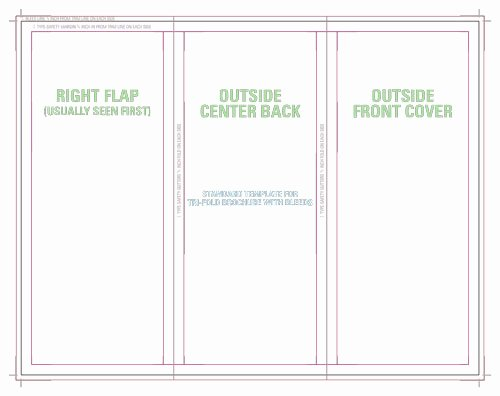 Tri Fold Table Tent Template Beautiful Templates for Accurate Printing