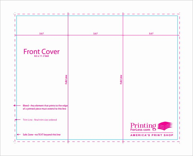 Tri Fold Table Tent Template Luxury 10 Printable Trifold Templates Doc Psd Pdf Eps