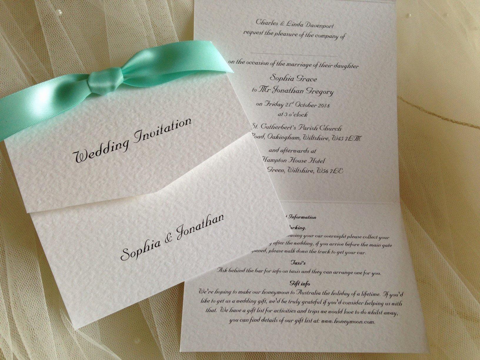 Tri Fold Wedding Invitations Best Of Tri Fold Wedding Invitations