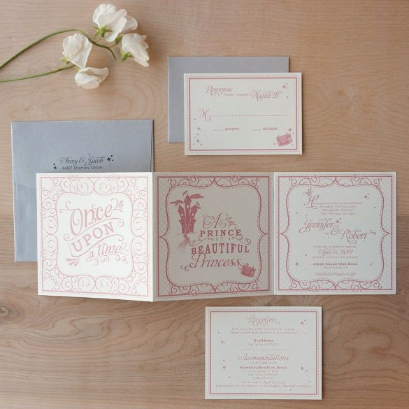 Tri Fold Wedding Invite Template Inspirational 12 Tri Fold Wedding Invitation Templates Psd