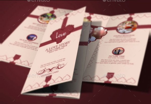 Tri Fold Wedding Invite Template Inspirational 17 Tri Fold Wedding Invitation Templates Free & Premium Download