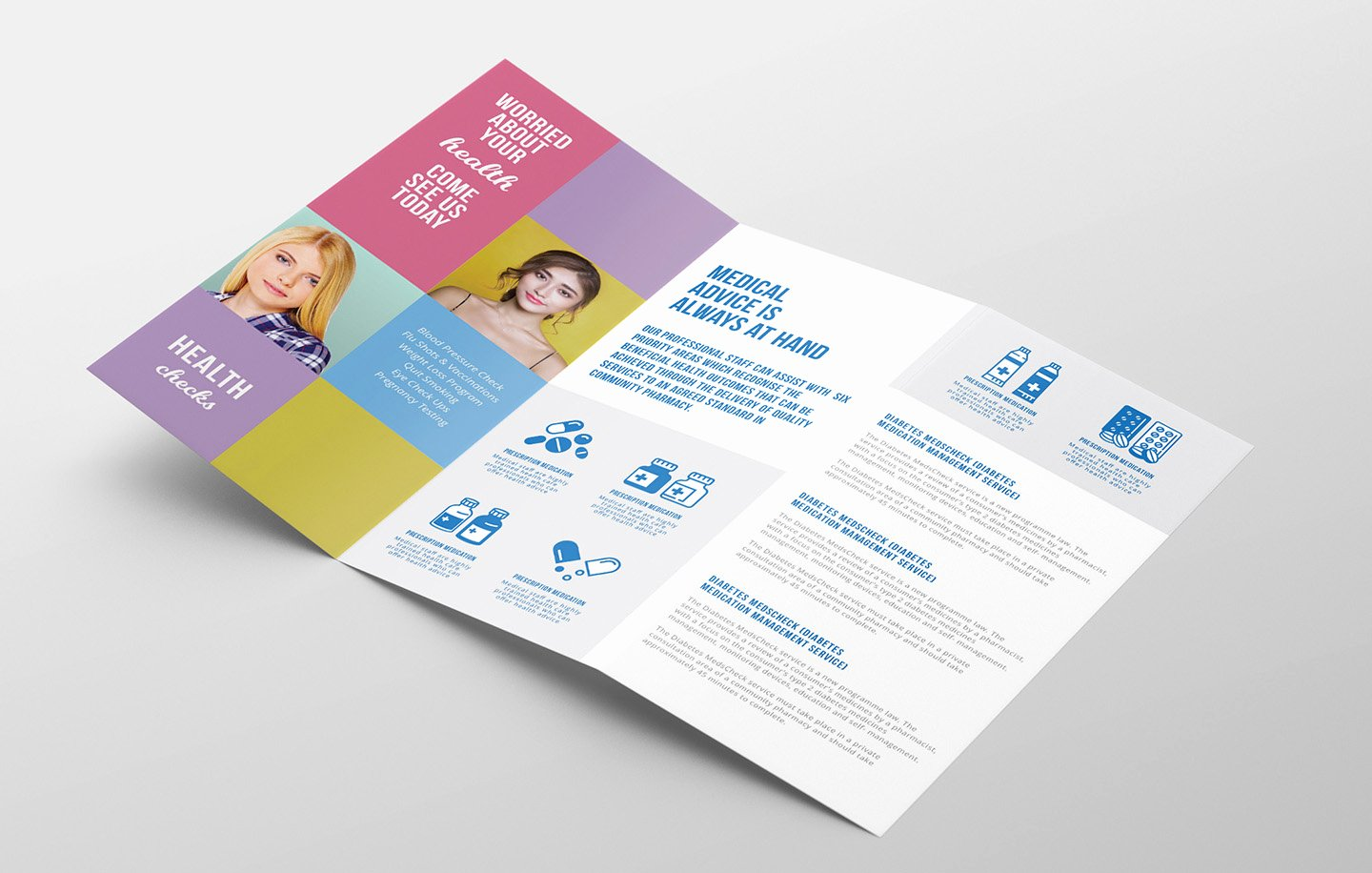 Trifold Brochure Template Illustrator Awesome Modern Medical Tri Fold Brochure Template In Psd Ai & Vector Brandpacks