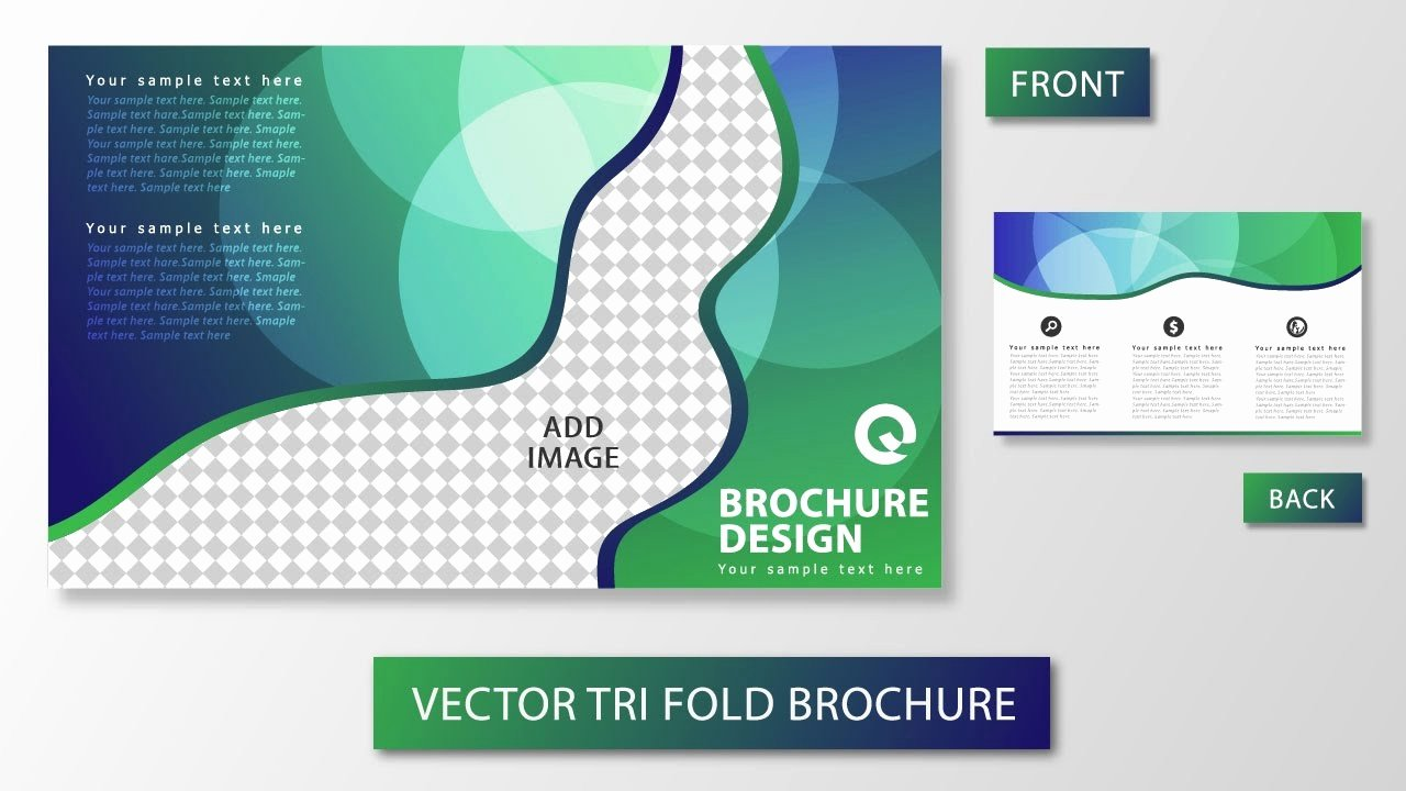 Trifold Brochure Template Illustrator Beautiful Illustrator Tutorial Tri Fold Brochure Design