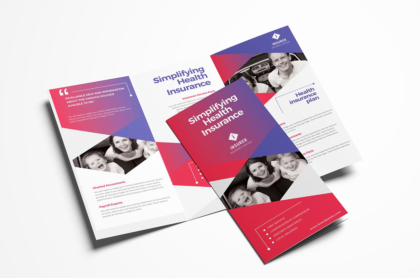 Trifold Brochure Template Illustrator Fresh Corporate Tri Fold Brochure Template In Psd Ai & Vector Brandpacks