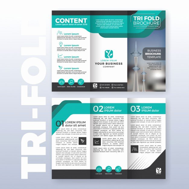 Trifold Brochure Template Illustrator Luxury Trifold Brochure Vectors S and Psd Files