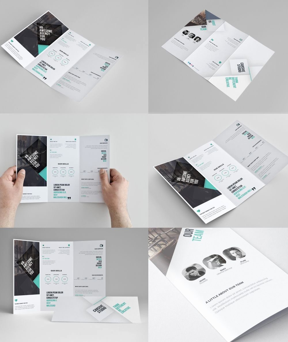 Trifold Brochure Template Photoshop Lovely Download Corporate Tri Fold Brochure Template Free Psd today S Freebies is Amazing and Modern