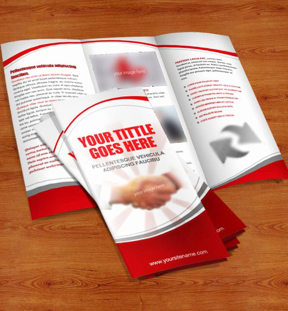 Trifold Brochure Template Photoshop New 40 Free Professional Tri Fold Brochures for Business Graphicsfuel