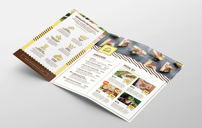 Trifold Brochure Template Photoshop Unique Catering Service Tri Fold Brochure Template Psd Ai & Vector Brandpacks