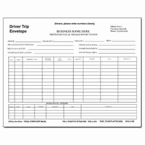 Truck Driver Trip Report Template New 29 Of Truck Trip Report Template