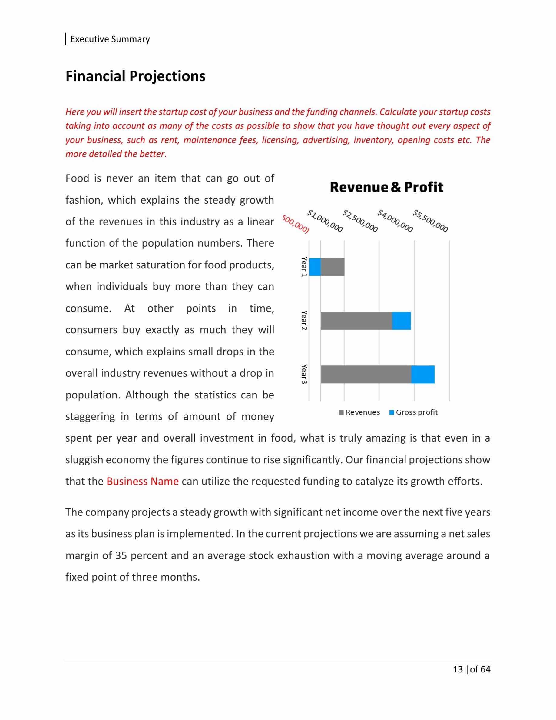 Trucking Business Plan Pdf Luxury Food Truck Business Plan Template Sample Pages Black Box Business Plans