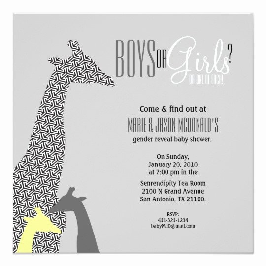 Twin Gender Reveal Invitations Fresh Jungle Gender Reveal Twins Baby Shower Invitation