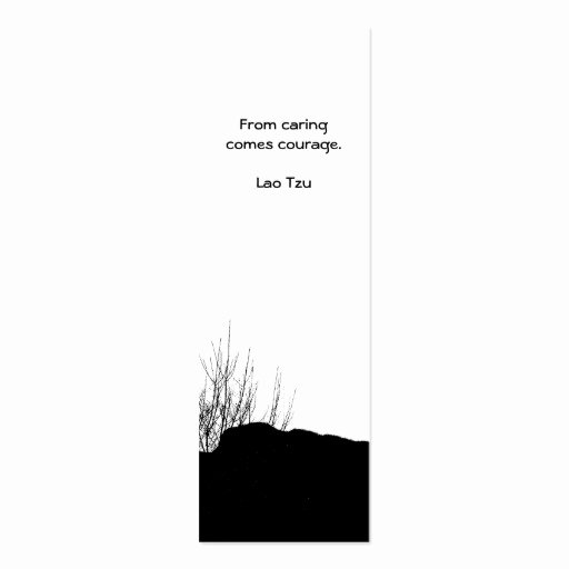 Two Sided Bookmark Template Elegant From Caring Es Courage Bookmark Double Sided Mini