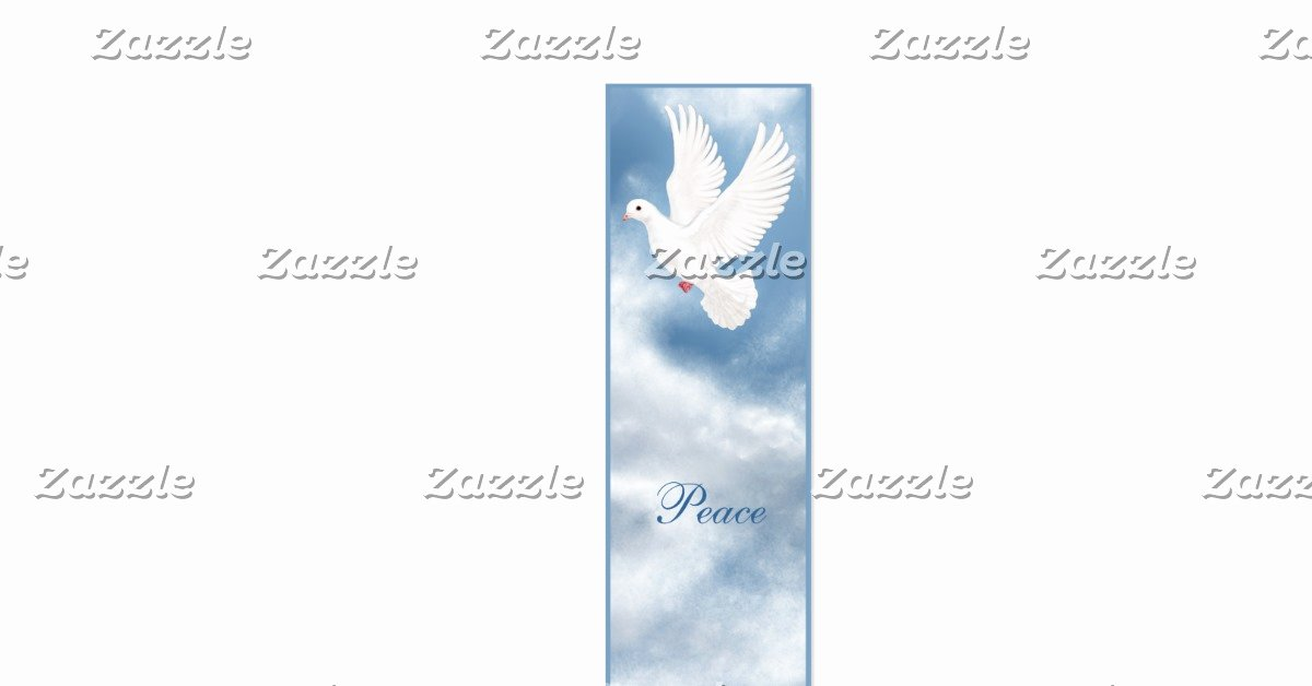 Two Sided Bookmark Template Fresh Peaceful Dove Bookmark Double Sided Mini Business Cards