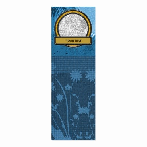Two Sided Bookmark Template Inspirational Bookmark Add Your Template Double Sided Mini
