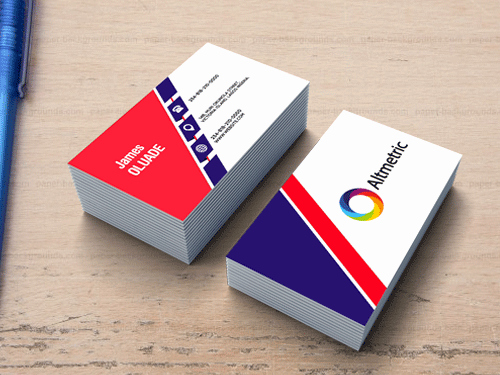 Two Sided Business Card Template Awesome Two Sided Business Card