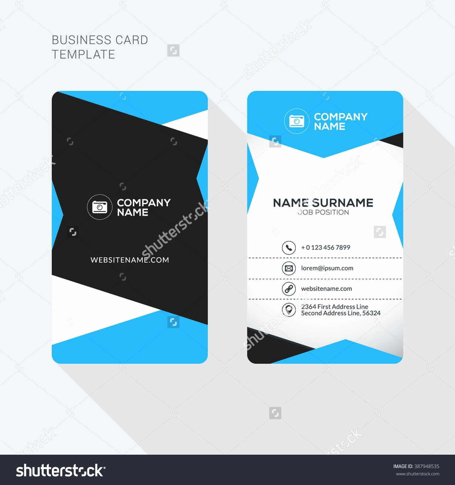 Two Sided Business Card Template Lovely 2 Sided Business Card Template Word Caquetapositivo