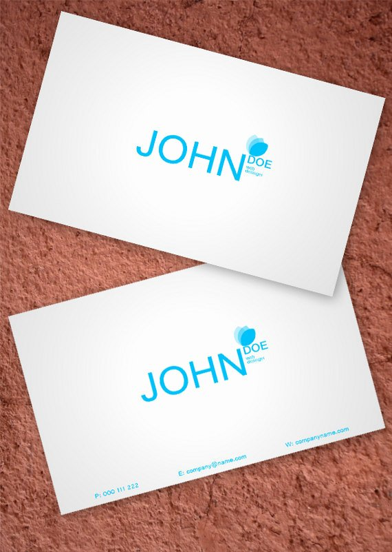 Two Sided Business Card Template New 15 Two Sided Business Card Templates Pixel77