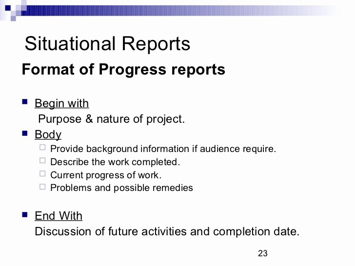 Types Of Business Reports Inspirational Types Of Business Reports